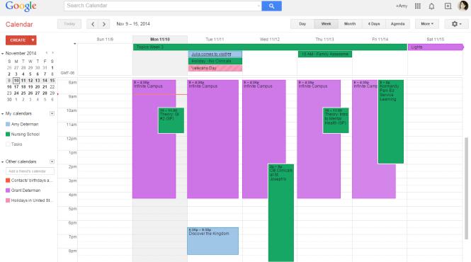 Google Calendar (All calendars)