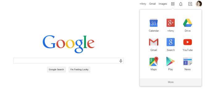 Google Calendar (Google Homepage)
